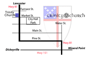 Map to Trinity